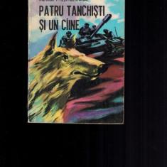 Patru tanchisti si un caine - Janusz Przymanowski; propaganda sovietica - Carte Epoca de aur