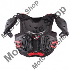 MBS LEATT JUNIOR BRUSTPANZER 4.5 PRO, schwarz-rot, 145-160cm, 17/035, Cod Produs: LB17120131AU - Armura moto