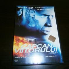 Next, DVD Film actiune sony pictures Nicholas Cage, 2007!, Romana