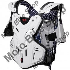 MBS EVS BRUSTPANZER F2, white, L=63-86 kg, 17/100, Cod Produs: F2LAU - Armura moto