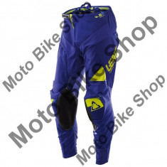 MBS LEATT RENNHOSE GPX 4.5 LITE BLAU/LIME, blau-lime, S=30=48, 17/106, Cod Produs: LB1761067SAU - Imbracaminte moto, Pantaloni