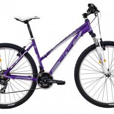 Bicicleta DHS Terrana 2722 (2017) Violet-Argintiu, 457mmPB Cod:21727224557 - Mountain Bike DHS, 18 inch