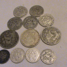 Colectie monede de argint Portugalia 84 grame, Europa