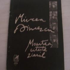 MOARTEA CITESTE ZIARUL MIRCEA DINESCU - Carte poezie