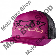 MBS FOX GIRL KAPPE SNAPBACK REMAINED TRUCKER, berry punch, One Size, 17/195, Cod Produs: 18610307AU - Sapca Dama