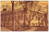 Timisoara Temesvar carte postala circulata in 1908,arsenalul armatei, Printata