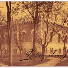 Timisoara Temesvar carte postala circulata in 1908, arsenalul armatei - Carte Postala Banat 1904-1918, Printata