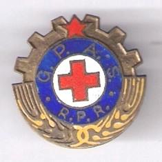 INSIGNA CRUCEA ROSIE G.P.A. S  RPR