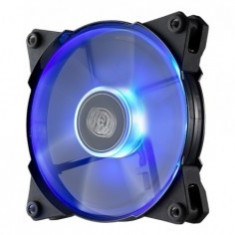 Cooler COOLER Master Fan for Case JetFlo 120x120x25 mm, w. 4 LED blue, POM bearing ''R4-JFDP-20PB-R1'' - Cooler PC