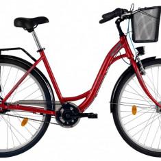 Bicicleta DHS Citadinne 2838 (2017) Visiniu, 505mmPB Cod:21728385022 - Bicicleta de oras DHS, 13 inch, Otel