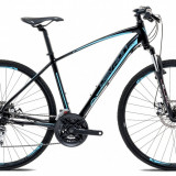 "Bicicleta Devron Cross K2.8 M – 495/19.5"", Pure BlackPB Cod:217KM284863"