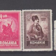 Romania 1929 Unirea Transilvaniei serie(2 timbre stampilate) - Timbre Romania, Istorie, Nestampilat
