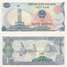 VIETNAM 1 dong 1985 AUNC/UNC!!!