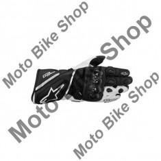 MBS Manusi piele Alpinestars GP Plus, negru/alb, S/8, Cod Produs: 355651312SAU - Manusi moto