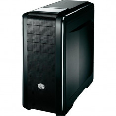 CARCASA Cooler Master fara sursa, CM 690 III, window version, mid-tower, ATX, 1* 140mm & 1* 120mm fan (inclus), black