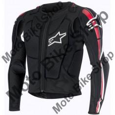 MBS ALPINESTARS PROTEKTORJACKE BIONIC PLUS, schwarz-rot-weiss, L, 17/018, Cod Produs: 6506716132LAU - Protectii moto
