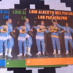 LUIS ALBERTO DEL PARANA LOS PARAGUAYOS colectie lot disc vinyl lp Muzica Latino electrecord, VINIL