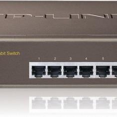 Switch 8 porturi 10/100/1000 Gigabit. carcasa metalica 1U, TP-LINK
