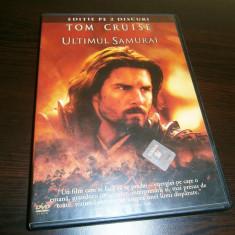Ultimul samurai, DVD dublu cu Tom Cruise, 2003! - Film drama warner bros. pictures, Romana