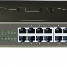 Switch 16 porturi 10/100 carcasa metalica 1U 19-inch, TP-LINK