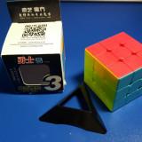 Cub Rubik 3x3x3 MoFangGe QiYi Warrior W Profesional 56mm - Jocuri Logica si inteligenta