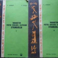 Indrumator Pentru Ridicarea Calificarii Strungarilor Vol.1-2 - Fr.gerbert, V.caisan, 393951