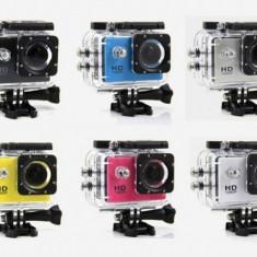 Sport Action Camera SJ4000 Subacvatica HD 720p, 8MP, unghi 140°, 29 Accesorii incluse - Camera Video Actiune