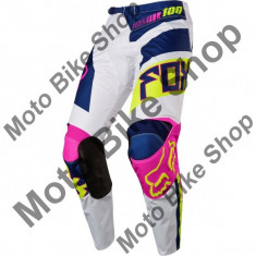 MBS FOX RENNHOSE 180 FALCON, navy-white, 28, 17/143SB, Cod Produs: 1725604528AU - Imbracaminte moto, Pantaloni