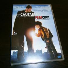 In cautarea fericirii, DVD film fabulos, cu Will Smith, 2006! - Film drama columbia pictures, Romana
