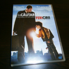 In cautarea fericirii, DVD film fabulos, cu Will Smith, 2006! - Film drama columbia pictures, Romana