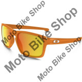 MBS OAKLEY SONNENBRILLE SLIVER FINGERPRINT, atomic orange, fire iridium, Cod Produs: 926216AU, Unisex