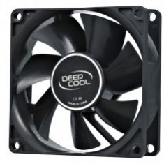 Cooler DeepCool Fan for Case, Hydro Bearing, dimensiuni 80x80x25 mm, Fan Speed 1800 RPM, Max. Air Flow 21.8 CFM, zgomot 20 dB(A), ''Xfan 80'' - Cooler PC