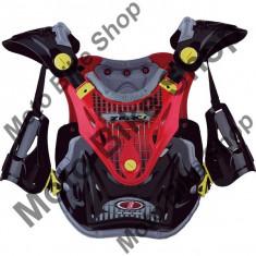 MBS ZERO7 BRUSTPANZER MX MID IDX2, rot-schwarz, uni, 17/097, Cod Produs: 972RKAU - Armura moto