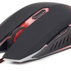 MOUSE Gembird USB gaming, 2400 dpi, red