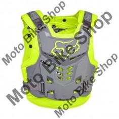 MBS FOX BRUSTPANZER PROFRAME LC, yellow/grey, S/M, LE2017, Cod Produs: 13558063SMAU - Armura moto