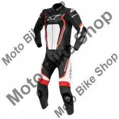 MBS ALPINESTARS LEDER 2-TEILER MOTEGI V2, schwarz-rot-weiss, 48, 17/008, Cod Produs: 316101713248AU - Imbracaminte moto Alpinestars, Combinezoane