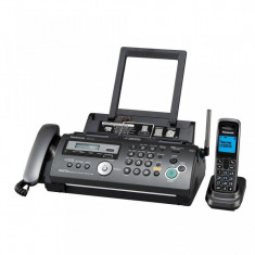 Fax Panasonic KX-FC278FX-S, hartie normala, film, receptor cu fir si dect, (include timbru verde 5 lei)