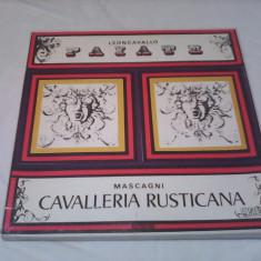 DISCURI VINIL BOX SET 3 LP CAVALLERIA RUSTICANA STARE EXCELENTA - Muzica Opera