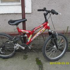 Bicicleta pentru copii - Bicicleta copii Berg Toys, 20 inch, 7-12 ani, Aluminiu, Numar viteze: 8