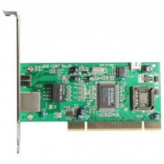 Placa Retea PCI 10/100/1000 Mbps Gigabit, D-Link