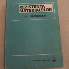 REZISTENTA MATERIALELOR GH.BUZDUGAN - Curs Tehnica