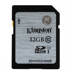 Secure Digital Card 32GB (Class 10) KINGSTON