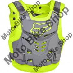 MBS FOX BRUSTPANZER PROFRAME LC, yellow/grey, L/XL, LE2017, Cod Produs: 13558063LXLAU - Armura moto