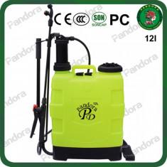 Pompa de stropit manuala Pandora pulverizator 12 L, De spate, 5.1-11