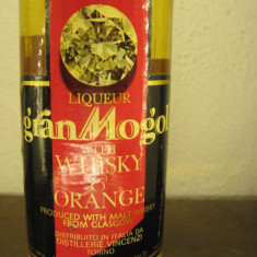 Whisky gran mogol, with wisky & orange, cl.75 gr. 40 ani 60