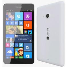 Smartphone Microsoft 535 8GB white in stare impecabila, liber de retea - Telefon Microsoft, Alb, Neblocat