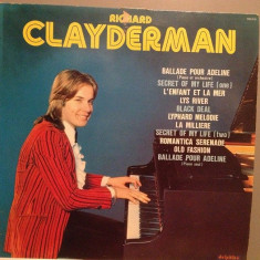 RICHARD CLAYDERMAN - BALLADE POUR ADELINE(1977/DELPHINE REC/FRANCE) - Vinil (NM), warner