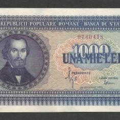 ROMANIA 1000 1.000 LEI 1950 [1] a UNC - Bancnota romaneasca