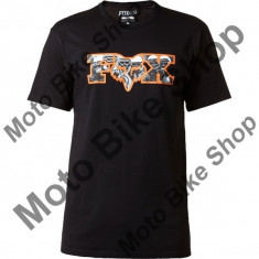 MBS FOX T-SHIRT PREFILTER, black, XL, LE2017, Cod Produs: 17928001XLAU - Tricou barbati, Maneca scurta