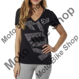 MBS FOX GIRL T-SHIRT ANGLED V-NECK, black, DS, LE2017, Cod Produs: 17539001SAU